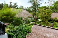 Luxury honeymoon hotel in Ko Samui Stock Images
