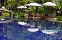 Luxury hotel Stock Image