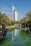 Luxury hotel. Burj Al Arab, Dubai. Consistently voted the world's most luxurious hotel Royalty Free Stock Photography