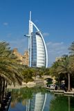 Luxury hotel. Burj Al Arab, Dubai. Consistently voted the world's most luxurious hotel Stock Images