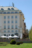 Luxury hotel. Newly reconstructed luxury hotel in downtown Zagreb, Croatia Royalty Free Stock Image