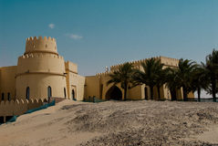 Luxury hotel in the Abu Dhabi Desert Stock Photo