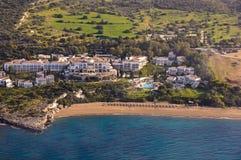 Luxury hotel aerial Stock Image