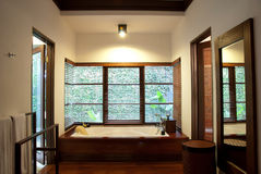 Luxury Hotel Bathroom stock image