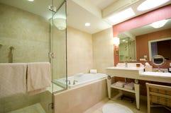 Luxury hotel bathroom Royalty Free Stock Photo
