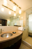 Luxury hotel bathroom trinidad port of spain Royalty Free Stock Photography