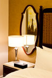 Luxury hotel bedroom Royalty Free Stock Photos