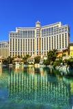 Luxury hotel Bellagio in Las Vegas. LAS VEGAS NV - JUNE 15: Luxury hotel Bellagio on June 15, 2012 in Las Vegas, USA. Bellagio is the luxury hotel and casino stock photos