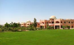 Luxury hotel buildings Stock Photography