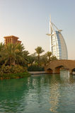 Luxury hotel Burj Al Arab  Royalty Free Stock Photography