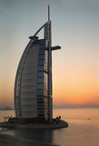 Luxury hotel Burj Al Arab Royalty Free Stock Image