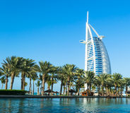 Luxury hotel Burj Al Arab Royalty Free Stock Photo