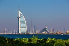 Luxury hotel Burj Al Arab Royalty Free Stock Images