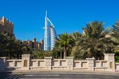 Luxury hotel Burj Al Arab Royalty Free Stock Image