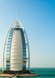 Luxury hotel Burj Al Arab Tower of the Arabs Stock Photo