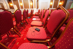 Luxury hotel conference room Stock Image