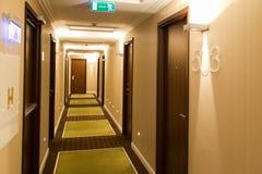 Luxury hotel corridor Royalty Free Stock Photo
