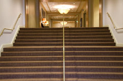 Luxury hotel corridor Royalty Free Stock Photography