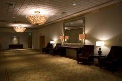 Luxury hotel corridor Stock Photography