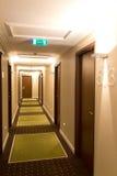 Luxury hotel corridor Stock Images