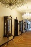 Luxury hotel corridor Stock Photos