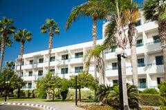 Luxury hotel on Cyprus Royalty Free Stock Photos