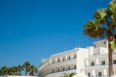 Luxury hotel on Cyprus Royalty Free Stock Photography