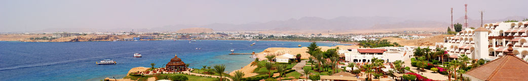 Luxury hotel in Egypt Royalty Free Stock Images