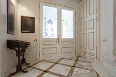 Luxury hotel entrance Stock Photo