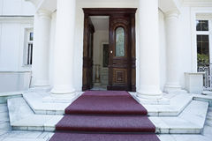 Luxury hotel entrance Stock Image