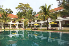 Luxury hotel exterior Royalty Free Stock Photo