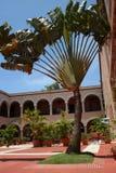 Luxury hotel garden Stock Photos