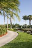 Luxury hotel grounds Stock Photos