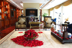 Luxury hotel in guangzhou Stock Image