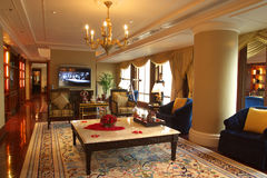 Luxury hotel in guangzhou Stock Photo