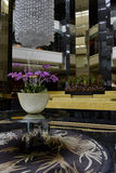 Luxury hotel hall. In kuala lumpur Royalty Free Stock Photos