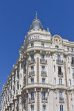 Luxury hotel InterContinental Carlton Cannes Royalty Free Stock Photography