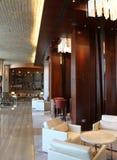 Luxury hotel interiors. No logos or trademarks stock image