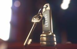Luxury Hotel Key Royalty Free Stock Photo