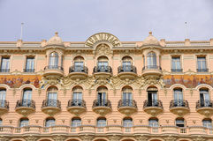 Luxury Hotel L'Hermitage in Monte Carlo, Monaco Stock Photography