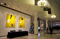 Luxury hotel lobby Stock Image