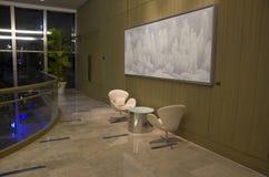Luxury hotel lobby corner Royalty Free Stock Images