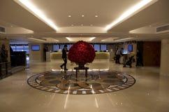 Luxury Hotel lobby interior Royalty Free Stock Photography