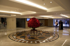 Luxury Hotel lobby interior Stock Photography