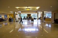 Luxury hotel lobby Royalty Free Stock Images