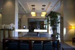 Luxury hotel lobby Stock Photos