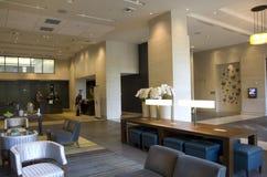 Luxury hotel lobby Stock Image