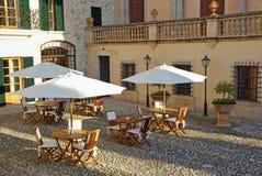 Luxury Hotel in Majorca royalty free stock image