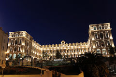 Luxury hotel in Marseilles Royalty Free Stock Photography