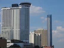 Luxury hotel Millennium Hilton Bangkok royalty free stock photography